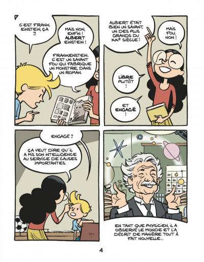 Page 6 Le fil de l'Histoire raconté par Ariane & Nino tome 1 - Albert Einstein - un physicien de génie