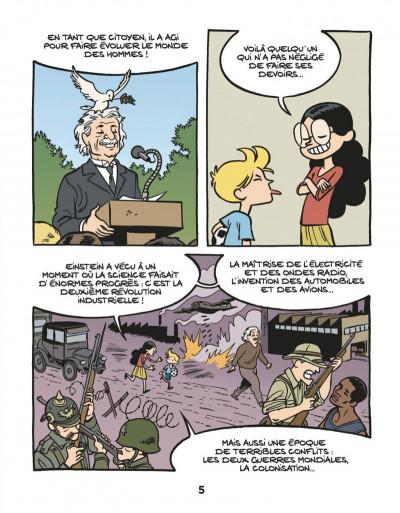 Page 7 Le fil de l'Histoire raconté par Ariane & Nino tome 1 - Albert Einstein - un physicien de génie