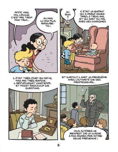 Page 8 Le fil de l'Histoire raconté par Ariane & Nino tome 1 - Albert Einstein - un physicien de génie