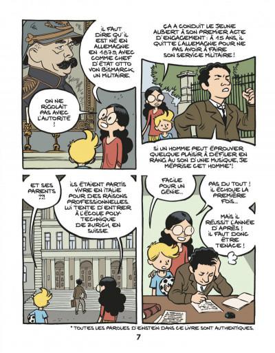 Page 9 Le fil de l'Histoire raconté par Ariane & Nino tome 1 - Albert Einstein - un physicien de génie