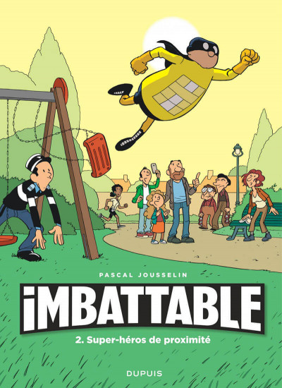 Couverture Imbattable tome 2 + ex-libris offert