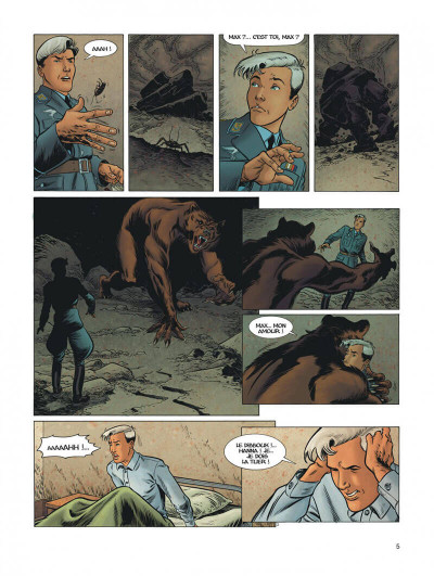 Page 5 Dent d'ours tome 6
