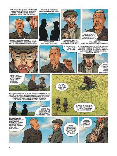 Page 8 Dent d'ours tome 6