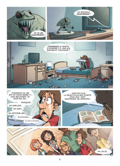 Page 9 Louca - intégrale tome 1