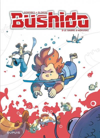 Couverture Bushido tome 3