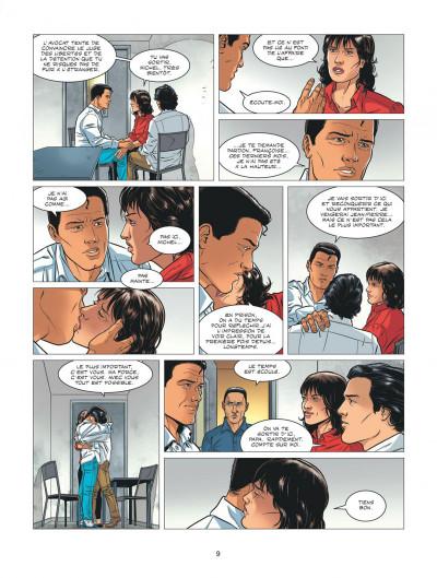 Page 9 Michel Vaillant - nouvelle saison tome 7 + ex-libris offert