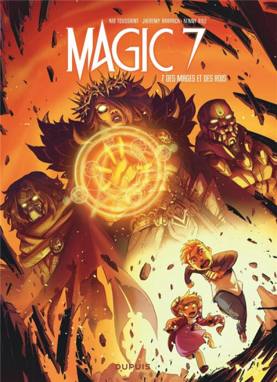 Couverture Magic 7 tome 7