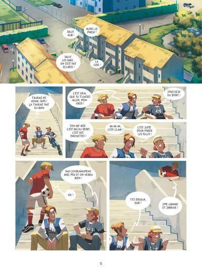 Page 5 Au-delà des étoiles tome 1