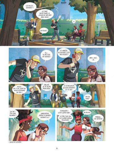 Page 6 Au-delà des étoiles tome 1