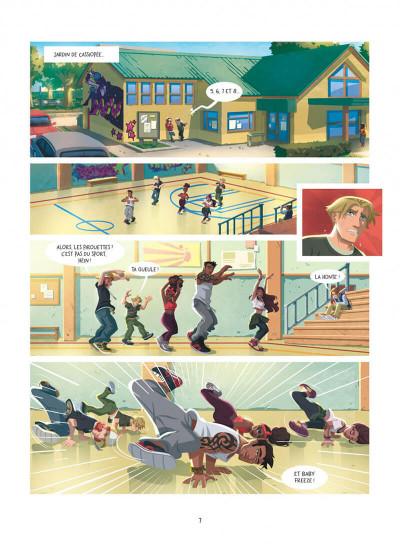 Page 7 Au-delà des étoiles tome 1