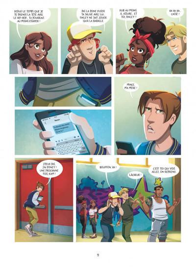 Page 9 Au-delà des étoiles tome 1