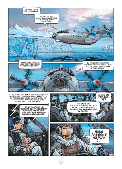 Page 4 Buck Danny tome 57