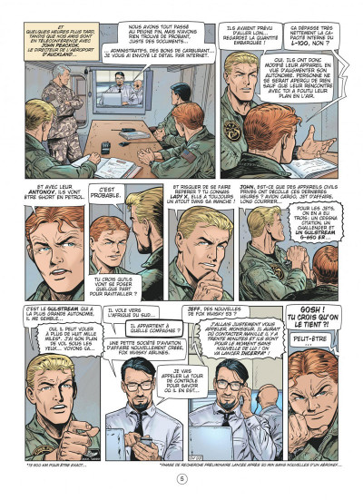 Page 5 Buck Danny tome 57