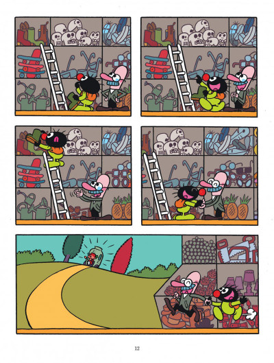 Page 2 Petit Poilu tome 22 - Mic-mac chez Monsieur Range-Tout