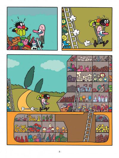 Page 8 Petit Poilu tome 22 - Mic-mac chez Monsieur Range-Tout