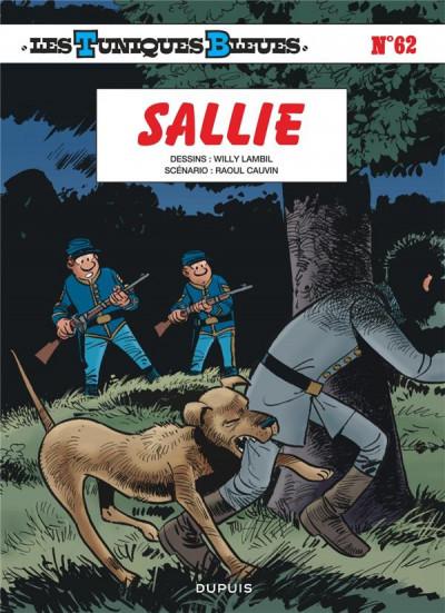 Couverture Les tuniques bleues tome 62 - Sallie