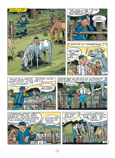 Page 3 Les tuniques bleues tome 62 - Sallie