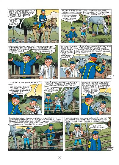 Page 4 Les tuniques bleues tome 62 - Sallie