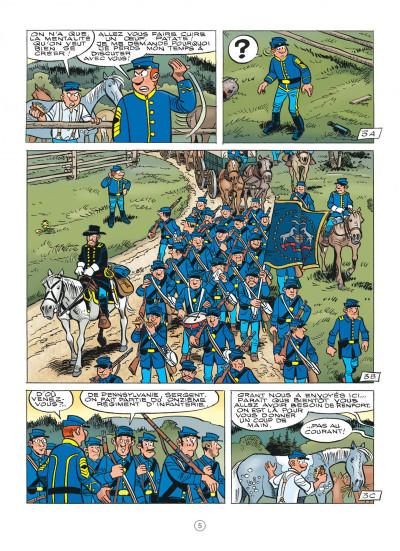 Page 5 Les tuniques bleues tome 62 - Sallie