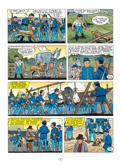 Page 6 Les tuniques bleues tome 62 - Sallie