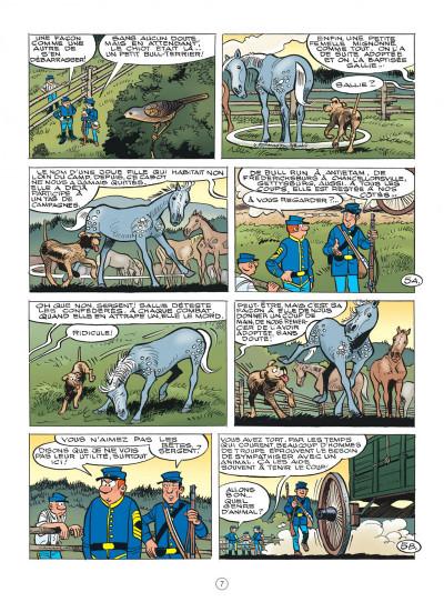 Page 7 Les tuniques bleues tome 62 - Sallie