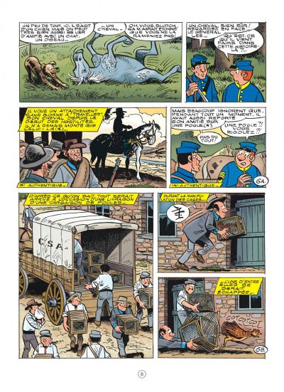Page 8 Les tuniques bleues tome 62 - Sallie