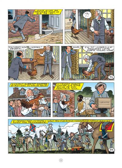 Page 9 Les tuniques bleues tome 62 - Sallie