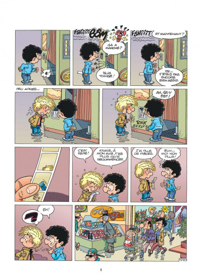 Page 4 Cédric best of tome 9