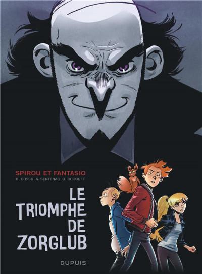 Couverture Spirou et Fantasio - Le triomphe de Zorglub + ex-libris offert