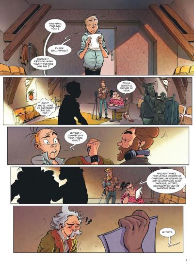 Page 2 Spirou et Fantasio - Le triomphe de Zorglub + ex-libris offert