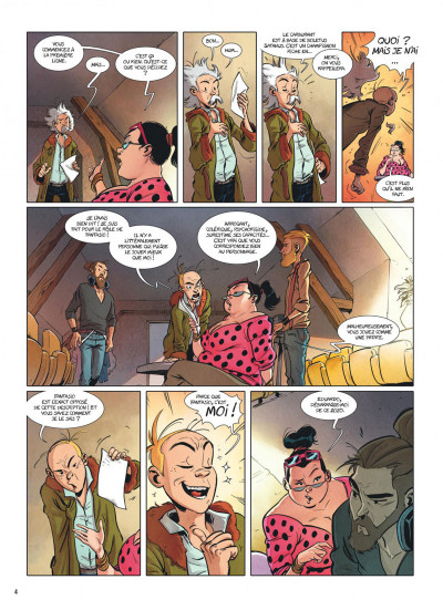 Page 3 Spirou et Fantasio - Le triomphe de Zorglub + ex-libris offert