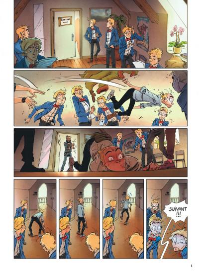 Page 4 Spirou et Fantasio - Le triomphe de Zorglub + ex-libris offert