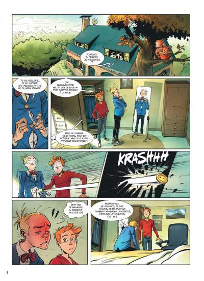 Page 5 Spirou et Fantasio - Le triomphe de Zorglub + ex-libris offert