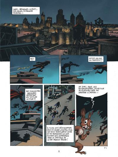 Page 4 Spirou - Supergroom - Justicier malgre lui
