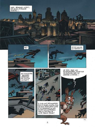 Page 5 Spirou - Supergroom - Justicier malgre lui