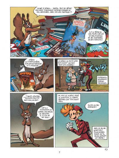Page 7 Spirou - Supergroom - Justicier malgre lui