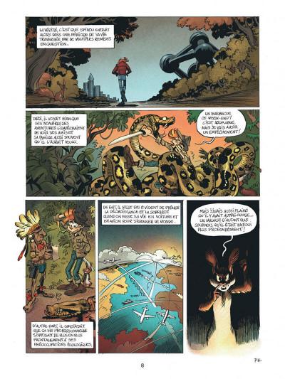 Page 8 Spirou - Supergroom - Justicier malgre lui