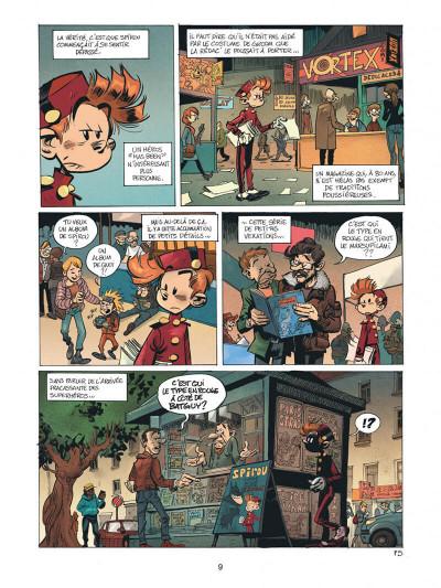 Page 9 Spirou - Supergroom - Justicier malgre lui