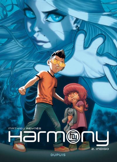 Couverture Harmony tome 2 - indigo