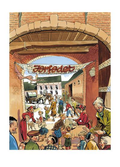 Page 7 Le petit théâtre de Spirou