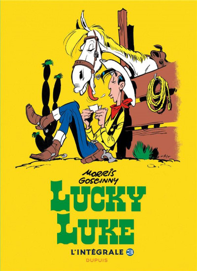 Couverture Lucky Luke - intégrale tome 3
