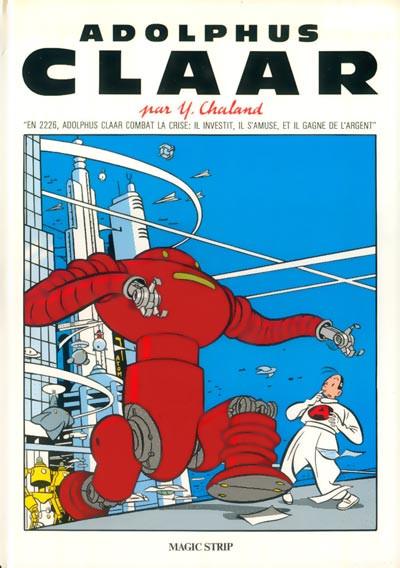 Couverture Adolphus Claar (éd. 1983)