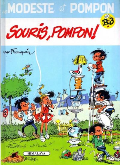 Couverture Modeste et Pompon tome 3 - souris pompon