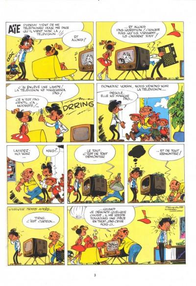 Page 1 Modeste et Pompon tome 3 - souris pompon