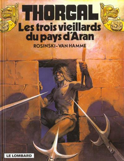 Couverture thorgal tome 3 - les trois vieillards du pays d'aran