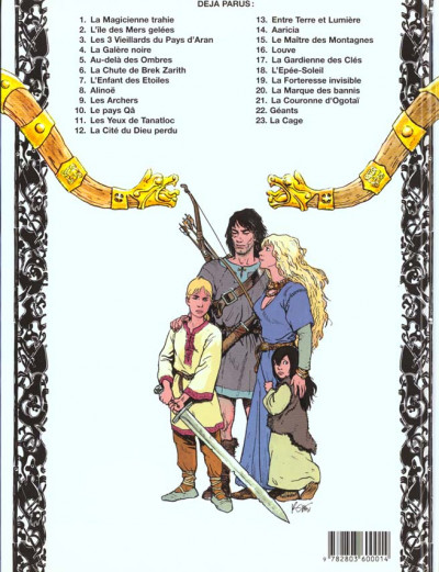 Dos thorgal tome 3 - les trois vieillards du pays d'aran