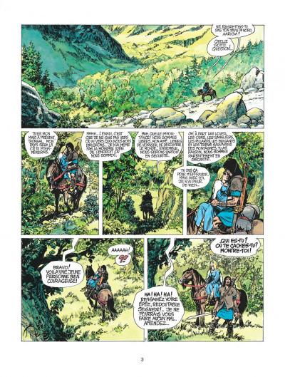 Page 3 thorgal tome 3 - les trois vieillards du pays d'aran