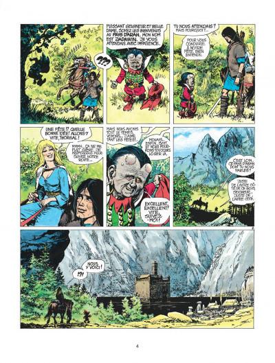 Page 4 thorgal tome 3 - les trois vieillards du pays d'aran