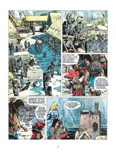 Page 5 thorgal tome 3 - les trois vieillards du pays d'aran