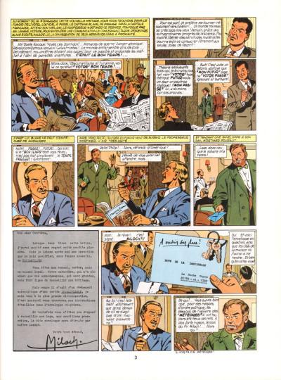 Page 3 Blake et Mortimer tome 9 - le piège diabolique